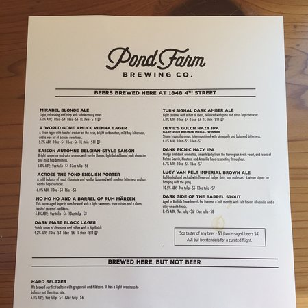 Pond Farm Brewing Company