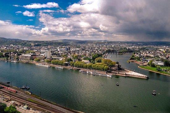 Koblenz - Gamlebyen inkludert Deutsches Eck