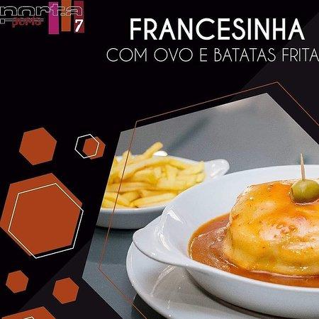 Fornos de Algodres, โปรตุเกส: Francesinha