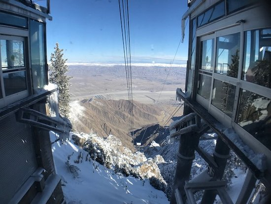 Palm Springs Aerial Tramway Admission Ticket: view from the top