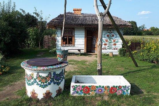 Zalipie Painted Village Private Tour from Krakow