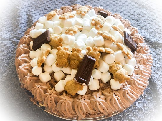 S'mores Galore pie