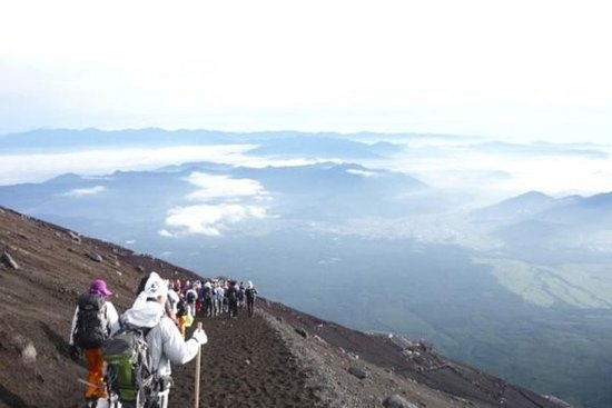 2-Day World heritage Mt Fuji Sunrise Climbing Tour from Tokyo