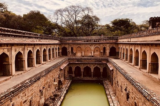 Foto Private Walking Tour: South Delhi Heritage including Qutub Minar and Mehrauli Archaeological Park