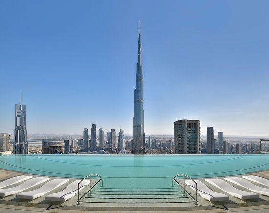 Best infinity pool !!! - Review of Address Sky View, Dubai, United Arab  Emirates - Tripadvisor