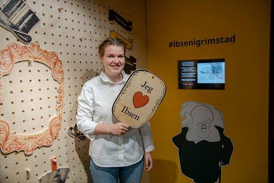 The Ibsen Museum in Grimstad
