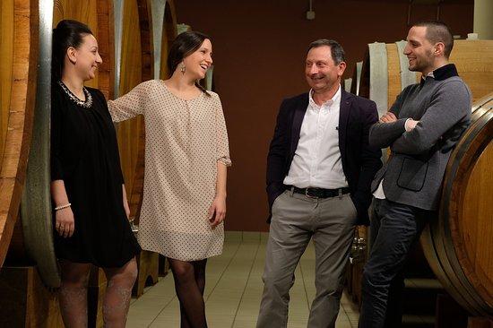 Montalcino, อิตาลี: La Famiglia Pacenti - The Pacenti's family