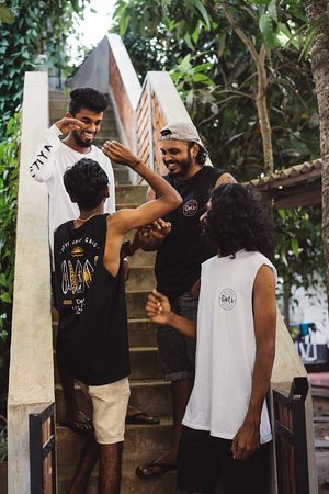 Buy our Dots merchandise in our Surf shop open daily from 10:00 till 16:00.