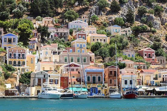 Symi Island from Rhodes with transfers from Ialyssos, Ixia, and...