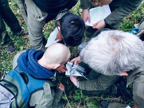 The Ardennes, เบลเยียม: 'The Hunt'  Real life outdoor escapegame een interactieve spel in de buitenlucht waarbij deelnemers door middel van opdrachten uit de handen van de Hunters moeten blijven.