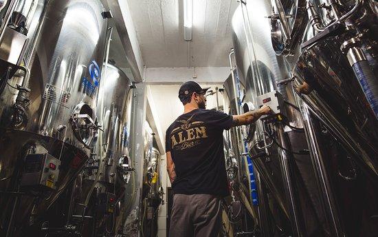 Alem Bier, a cervejaria no coração da nossa vinícola! Créditos: Rodrigo Onzi