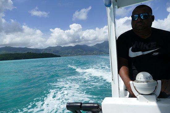 """Sainte Anne Island, Seychelles: Bootsausflug mit der """"Crystal Star"""""""