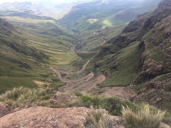 Sani Pass ภาพถ่าย
