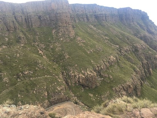 Fotografia de Sani Pass