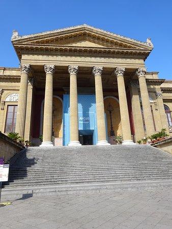 Teatro Massimo Vittorio Emanuele - Palermo, Sicily