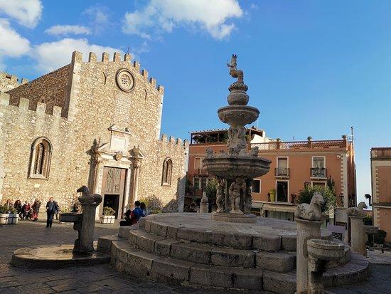 Etna and Taormina Full-Day Tour from Catania: A Church in Taormina