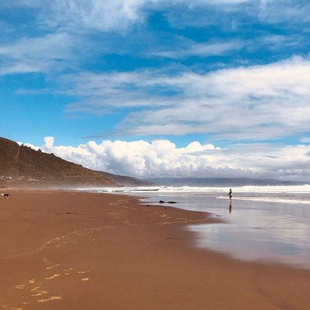 Curinanco, Чили: Increíbles postales frente un mar de grandes y blancas olas. Playa Curiñanco sin duda es el mejor lugar para relajarse