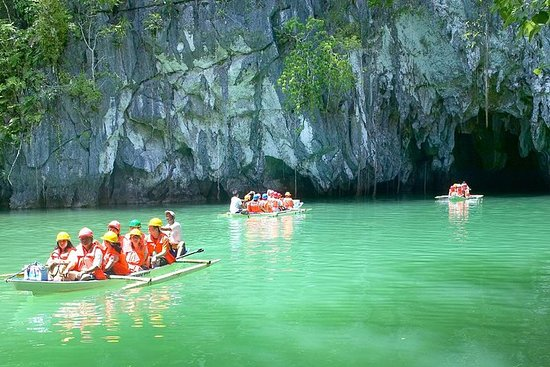 Excursion à la rivière souterraine au départ de Puerto Princesa