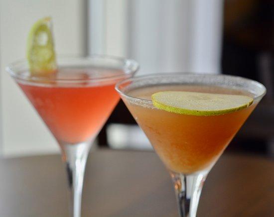 Pomegranate and Pearfect Martini