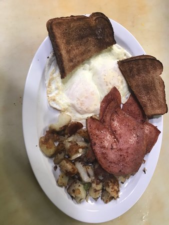 Wrightstown, NJ: Pork Roll and Eggs