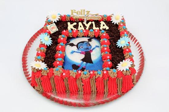 Tarta de Chocolate y Nata con foto
