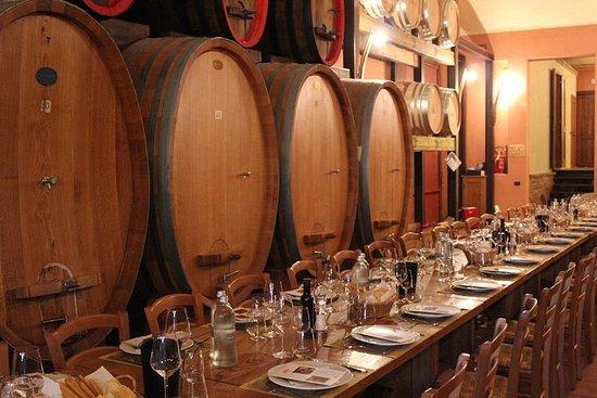 Expérience du vin Barolo - Déjeuner...