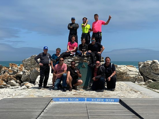 The group reaches the southern tip of Africa