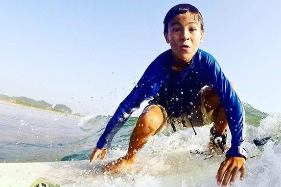 Kids Surf Lesson for Small Group in Miyazaki