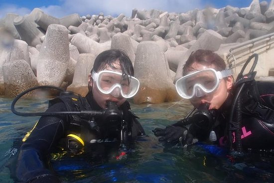 【Okinawa Motobu area】 Trial Beach Diving for non-Certified Diver ( 1 Dive) only for one group in the morning and afternoon Resmi