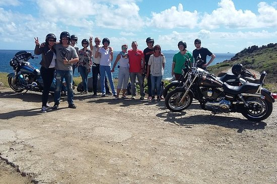 Harley-Davidson-Tour durch St. Maarten