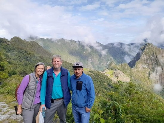 2-Day Sacred Valley With Train to Machu Picchu: Well worth the hike up Machu Mumma in the rain at sunrise to look down on Machu Picchu.