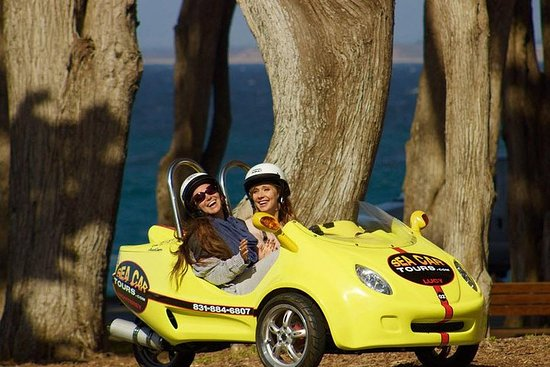 Tour di 2 ore su Monterey e Pacific Grove Sea Car