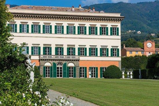 Gjenoppdagede hager av Elisa Bonaparte