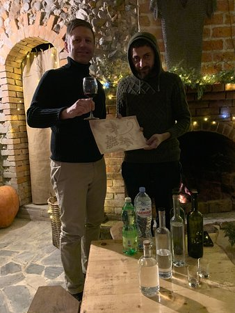 Цхалтубо, Грузия: Fabulous wine tasting