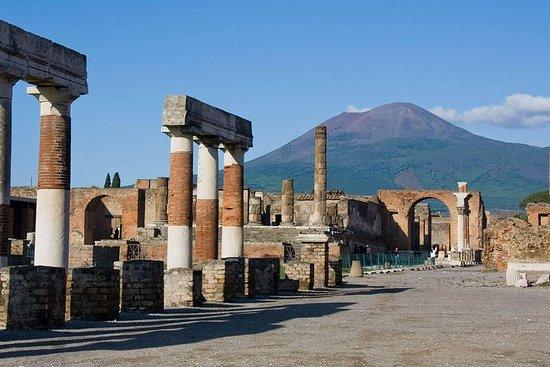 Ruines de Pompéi et palais royal de...