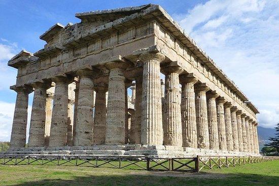 Paestum Temples,Bufala mozzarella's...