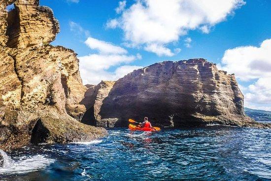 アゾレス諸島:カヤックヴィラフランカドカンポアイレット