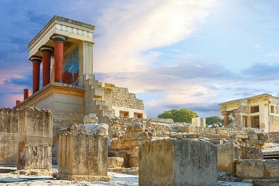 Knossos Palace & Museum aus Chania auf Kreta