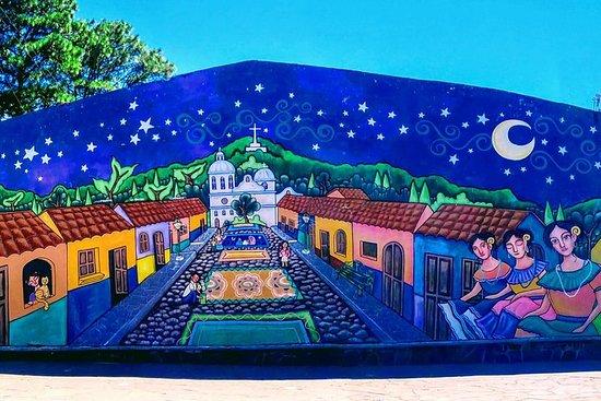 El Salvador Mayan Ruins, Ruta de las...