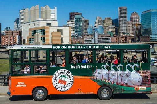Hop-on-Hop-off-Tour durch Boston