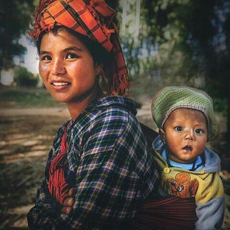 Shan State, Myanmar: Love nature