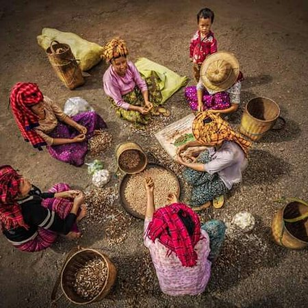 Shan State, Myanmar: Mountain people's