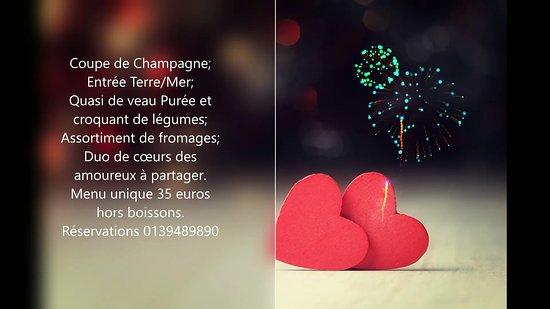 Fontenay-le-Fleury, France: Bonjour à tous, Voici une idée pour la st Valentin. RV