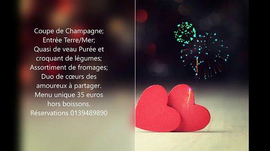 Fontenay-le-Fleury, France: Pour vôtre soirée en amoureux à Fontenay le Fleury. RV