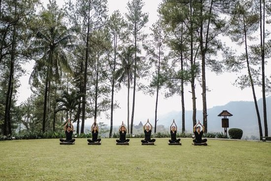 Spiritual Yoga at Borobudur