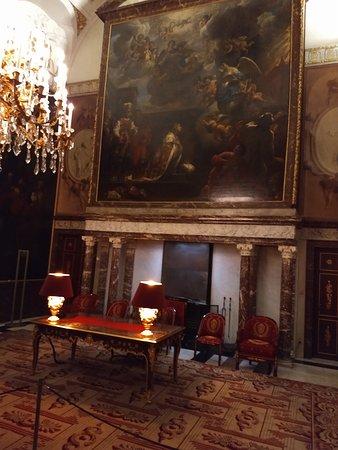 Zaal waar op 30 april 2013 de abdicatie van Koningin Beatrix plaatsvond.