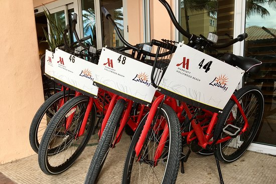 Our bicycles are waiting for you to cruise the Broadwalk.