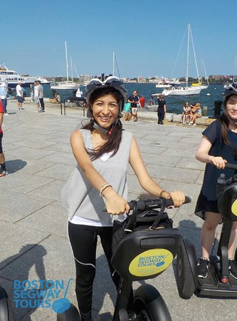 There will be so much #sunshine outside in Boston tomorrow! Get out there and enjoy yourself on #TripAdvisor's #1 TOUR IN BOSTON! #Boston #Segway #Tours 🤩 www.bostonsegwaytours.net