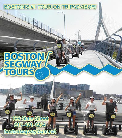 It's never too early to book a #segway #tour with us and guarantee your spot! Family visiting #Boston? Wanna show off our awesome city? We are the city's #1 tour on #TripAdvisor! 😎