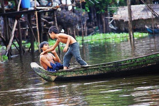 Kompong Phluk - Village flottant...